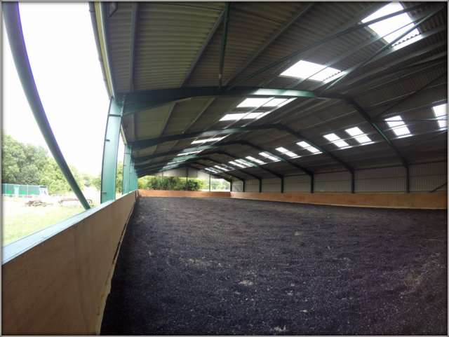 20x40 mtr Indoor Riding School